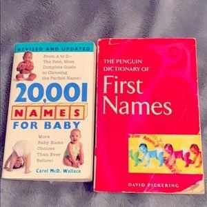 Baby names by Carol McD.Wallace & David Pickering